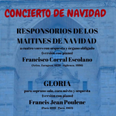 """Concierto de Navidad """"GLORIA"""" FRANCIS JEAN POULEN"""